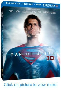 Man of Steel (Blu-ray 3D   Blu-ray   DVD  UltraViolet Combo Pack)