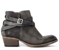 Horrigan Smoke Boot €) - One of Hudson's most successful ladies suede ankle boots. Our design team has combined the best of both worlds using a leather vamp and then a tonal suede counter. Finished with leather soles and stylish ankle straps, it's Grey Booties, Suede Ankle Boots, Leather Booties, Ankle Booties, Shoe Boots, Hudson Shoes, New Shoes, Women's Shoes, Biker Shoes