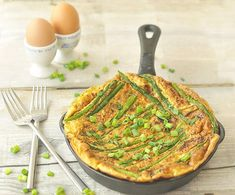 sweet-potato-asparagus-frittata - A Touch of Zest