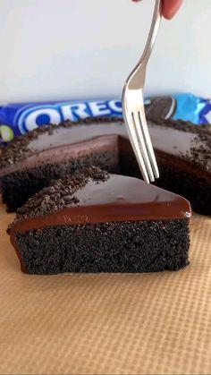 Fun Baking Recipes, Easy Cake Recipes, Sweet Recipes, Cookie Recipes, Snacks Recipes, Chocolate Dishes, Chocolate Cake Recipe Easy, Chocolate Recipes, Chocolate Torte