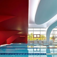 World Class Olympic 🖋 VOX Architects 📸 Sergey Ananiev 📍 #Moscow #Russia #Fitness #Pool #Leisure #Gym #BloodRed #Contrast #Swimming #Sports #wow #picoftheday #ADphotooftheday #archdaily #architecture #instagood #iphonesia #photooftheday