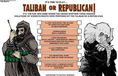 Taliban or Republicans!