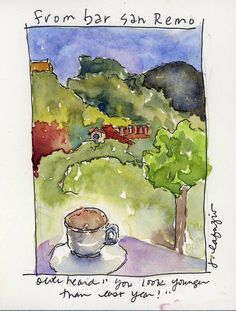 Italian Sketchbook ~ Jane LaFazio