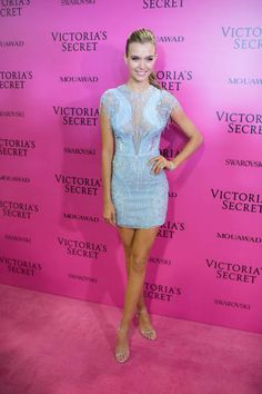 Josephine Skriver attends the 2017 Victoria Secret Fashion Show After Party on November 20 2017 in Shanghai China