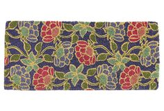 "1'6"" x 3'4"" Flora Mat, Purple/Red/Multi on OneKingsLane.com"