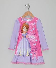 Sofia the First Pink Sofia the First Nightgown - Toddler 301ff03b8