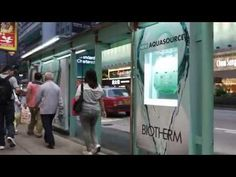JCDecaux Cityscape(Hong Kong) - Biotherm Innovate Campaign