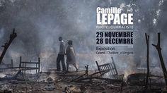 La Ville d'Angers, en partenariat avec l'agence Hans Lucas et l'association Tisseurs d'images, accueille une exposition dédiée au travail de la photojournaliste angevine Camille Lepage, du 29 novembre au 28 décembre 2014, au Grand Théâtre.