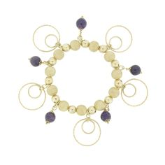 SALIA Silber Bettelarmband 50,-Euro  #princesslioness #silberschmuck #silberarmband #bettelarmband #style #dunkellila #extravagant