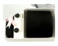Luxusná kravatová súprava s čiernym mriežkovaným vzorom http://www.luxusne-doplnky.eu