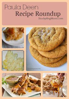 Our favorite Paula Deen Recipe Roundup!  A must pin!