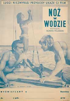 Posteritati: KNIFE IN THE WATER 1962 Polish 12x17