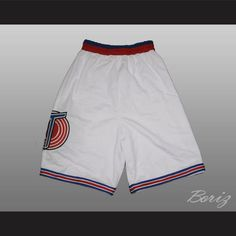 12e5c3d37f84b Michael Jordan Space Jam Tune Squad Shorts ALL SEWN. SHIPPING TIME IS ABOUT  3-