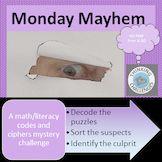 Monday Mayhem : A Secret Code Mystery Teacher Pay Teachers, Teacher Resources, Higher Order Thinking, Math Literacy, Critical Thinking Skills, Math Centers, Have Fun, Challenges, Classroom