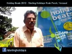 Holiday Beats @ Sterling Holidays: A video of a guest with a wonderful voice singing his favourite travel number at the Sterling Holidays Rock Perch, Yercaud.