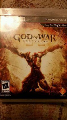 """PLAYSTATION S-3 """"GOD OF WAR ASCENSION"""" 2013"""