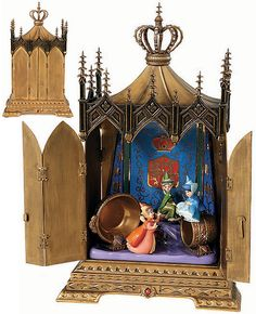 Sleeping Beauty - Jeweled Box - Clandestine Conclave - Walt Disney Classics Collection - World-Wide-Art.com