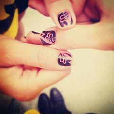Fox nails design