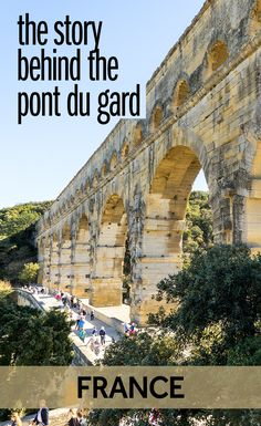 The Pont du Gard in France is one of the best Roman monuments outside of Italy. This Roman aqueduct in France is a marvel of engineering and well worth the visit. It is also one of the best World Heritage Sites in France.