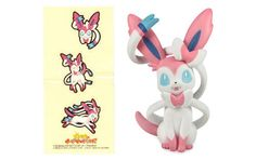 New-Pokemon-X-and-Y-Movie-Figure-Collection-Sitting-Sylveon-Stickers