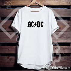 Acdc Logo Tshirt – Tshirt Adult Unisex Size S-3XL