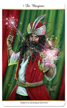 Featured Card of the Day – The Magician – 78 Tarot Carnival ~ Cirque du Tarot The Magicians, Tarot By Cecelia, Ace Of Pentacles, The Magician Tarot, Fortune Telling Cards, The Hierophant, Online Tarot, Tarot Readers, Major Arcana