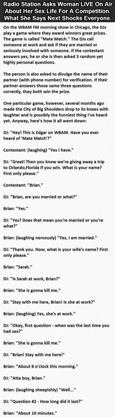 So you have to go to the actual page to read this, but it is SOOOO worth it!! Had me and the husband cracking UP!!