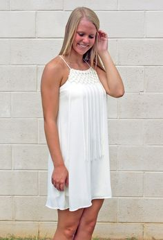Classic Fringe Dress - Southern Flair Boutique