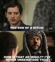I love Wilfred