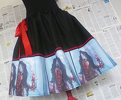 The Walking Dead Zombie Clothes Zombie Print Dress by RoobyLane, £40.00