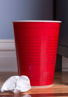 Party Cup in Here Trash Can-  LOVE it!  They need to come out with a while dest set!