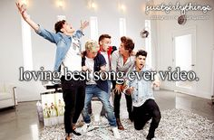 And we danced all night to the best song ever! We know ever line now we can't remember!
