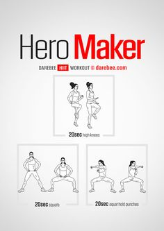 Hero Maker  Workout   Posted By: NewHowtoLoseBellyFat.com