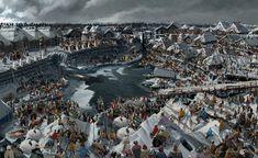 """ArtStation - Gorodishche, concepts for the movie """"He is the dragon"""" 2., Valeriy Zrazhevskiy"""