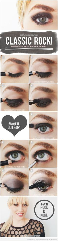 tutorial-paso-a-paso-maquillaje-ahumado-utilizando-khol-kajal-eyeliner-negro