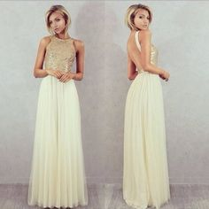 Charmming-Chiffon-Tulle-with-Top-Champagne-Gold-Sequin-Bridesmaid-Dresses-Formal-Prom-Dress-2015-Long-Special