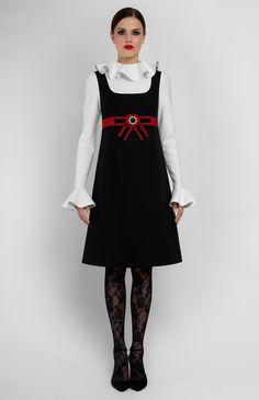 Pintel Store — AMYRAH — women dress in cotton (Italy) Little Dresses, Dresses For Teens, Cute Dresses, Vintage Dresses, Beautiful Dresses, Retro Outfits, Vintage Outfits, Korea Fashion, Cotton Dresses