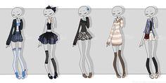 Gachapon outfits 6 by kawaii-antagonist.deviantart.com on @DeviantArt