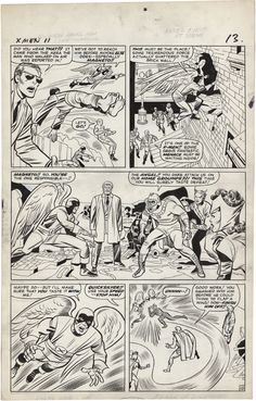 The X-Men, Issue 11, Page 10 - Jack Kirby