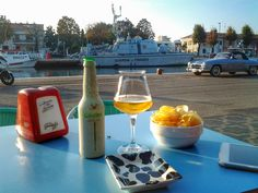 Aperitivo with a view. Rimini, Italy.