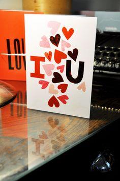 Aiga Ne Valentines card via Felt & Wire