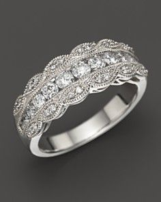 Diamond Band in 14K White Gold, .75 ct. t.w._0