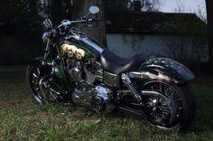 YOURLIFE AIRBRUSHING ▲- Аэрография & Дизайн: Airbrushing motorcycle Harley-Davidson (Аэрография...