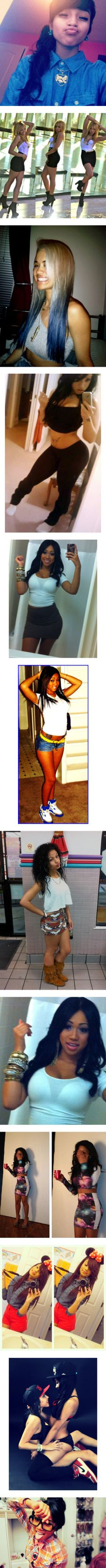 """""""the pretty girls 33 trill shit nggas"""" by obeyswaggbaby ❤ liked on Polyvore"""