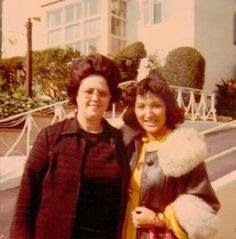 Mother Osmond and Candy @Manning Milton Ave. 1977