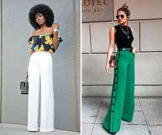 calça pantalona com cropped ou body Ideias Fashion, Fashion Outfits, Clothes, Style, Shopping, Different Styles, 15 Dresses, Minimalist Fashion, Outfits