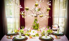 Cristina Ferrare Creates an Easter Tablescape