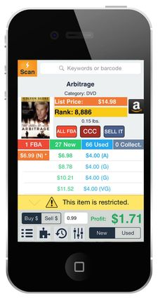 Profit Bandit - The Scouting App by SellerEngine Sell Books On Amazon, Retail Arbitrage, Scanner App, What To Sell, Online Income, Online Sales, Make Easy Money, Show Me The Money, Quick Reads