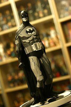 Batman, designed by Mike Mignola