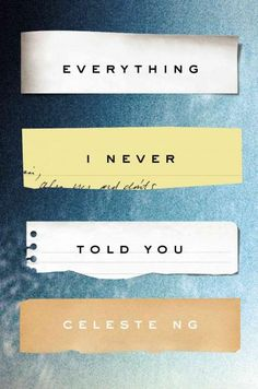 "Celeste Ng's compelling debut novel, Everything I Never Told You, is set in 1977, a time when races in America tended to be categorized as ""black,"" ""white"" and ""other."" The Lee family — Chinese-American father, white mother and mixed-race kids — falls distinctly under ""other."" And while existing outside the black/white racial tension might seem nice, it has allowed the Lees to avoid asking difficult questions about who they are and how they fit in to their small Ohio town."